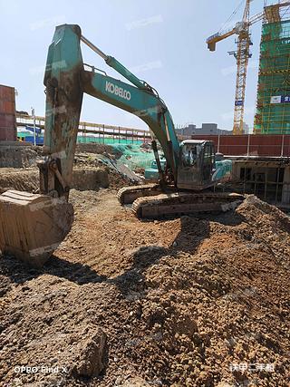 浙江-金华市二手神钢SK350LC-8挖掘机实拍照片