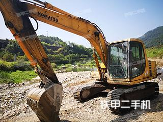浙江-丽水市二手小松PC120-6E挖掘机实拍照片