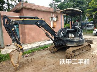 广东-广州市二手小松PC30MR-2挖掘机实拍照片