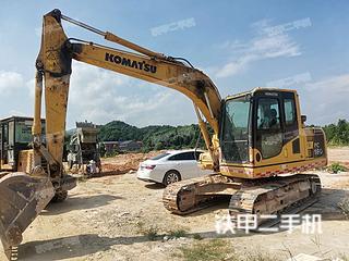 小松PC130-8M0挖掘机实拍图片