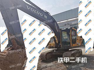山东-济南市二手沃尔沃EC210B挖掘机实拍照片