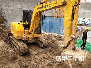 二手龙工 LG6060D 挖掘机转让出售