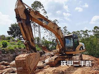 广东-茂名市二手卡特彼勒320C挖掘机实拍照片