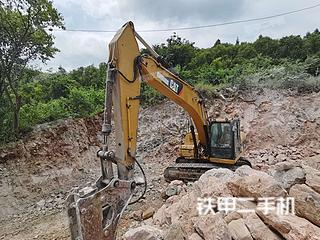 安順卡特彼勒320D液壓挖掘機實拍圖片