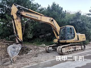 广东-清远市二手小松PC200-6挖掘机实拍照片