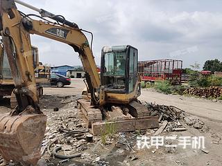 广东-梅州市二手卡特彼勒305.5挖掘机实拍照片