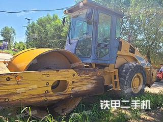 甘肃-平凉市二手柳工CLG620压路机实拍照片