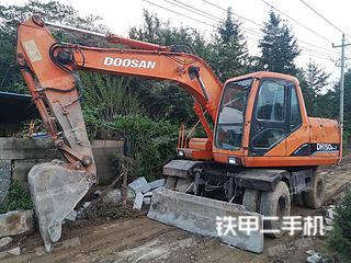 日照斗山DH150W-7挖掘機實拍圖片