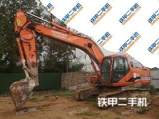 日照斗山DH220LC-7挖掘機實拍圖片