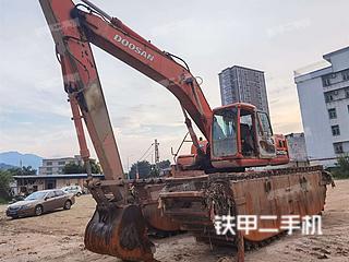 广东-揭阳市二手斗山DH220-5挖掘机实拍照片