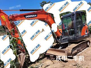 安順斗山DX55-9C挖掘機實拍圖片