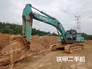 江西-上饶市二手神钢SK350LC-8挖掘机实拍照片