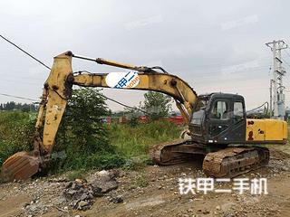 日照柳工CLG220LC挖掘機實拍圖片