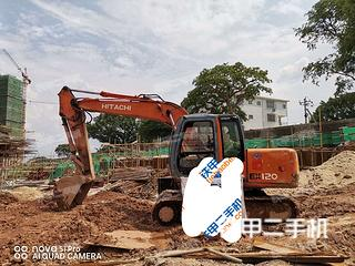 日立EX100-5挖掘機實拍圖片