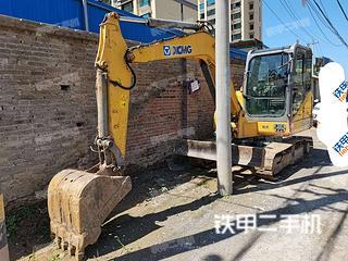 徐工XE60CA挖掘机实拍图片