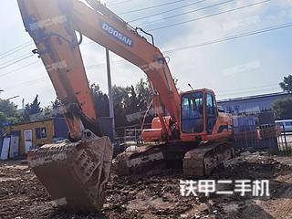 斗山DH300LC-7挖掘机实拍图片