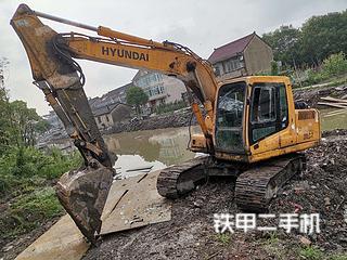 二手现代 R150LC-7 挖掘机转让出售
