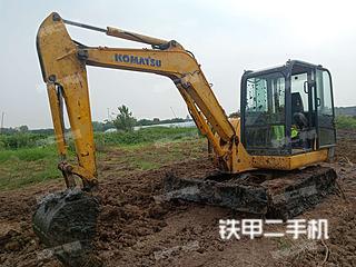 安徽-淮南市二手小松PC56-7挖掘机实拍照片