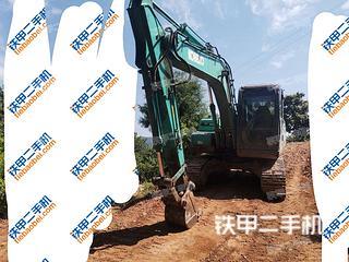 开县神钢SK130-8挖掘机实拍图片