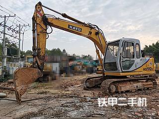加藤HD510挖掘机实拍图片
