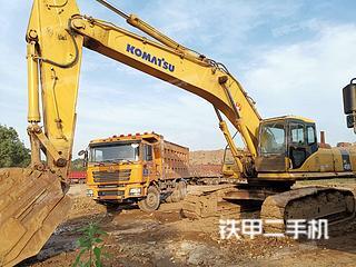 小松PC450-7挖掘机实拍图片