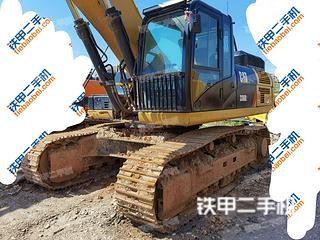 海南卡特彼勒336D2液压挖掘机实拍图片