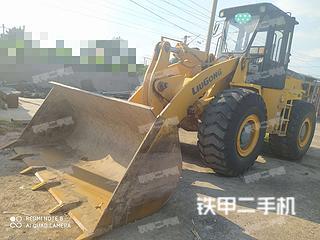 安阳柳工CLG855装载机实拍图片