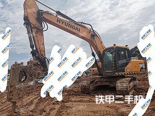 四川-广元市二手现代R215LVS挖掘机实拍照片