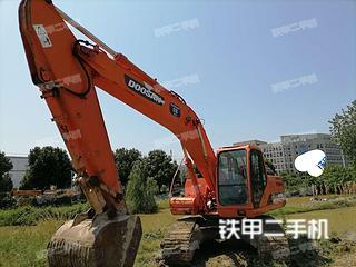 合肥斗山DH215-9挖掘机实拍图片