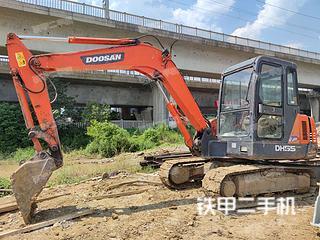合肥斗山DH55-V挖掘机实拍图片