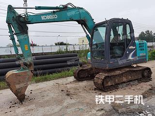 珠海神钢SK75-8挖掘机实拍图片