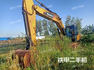 河南-信阳市二手三一重工SY215C挖掘机实拍照片