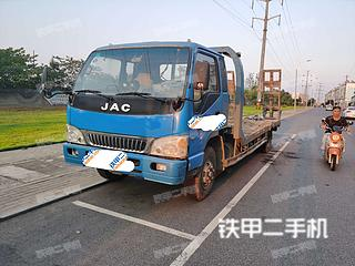 二手江淮重工 4X2 平板运输车转让出售