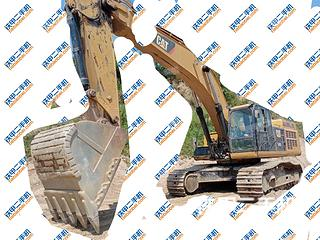 卡特彼勒349D2液压挖掘机实拍图片