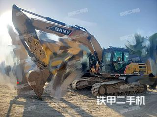 驻马店三一重工SY245H挖掘机实拍图片