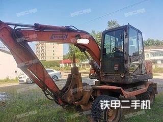 湖南-岳阳市二手新源XY65W-8挖掘机实拍照片