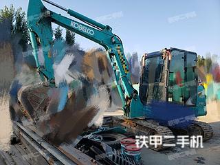 驻马店神钢SK60-8挖掘机实拍图片