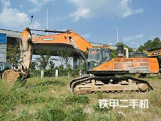 合肥斗山DX520LC-9C挖掘机实拍图片