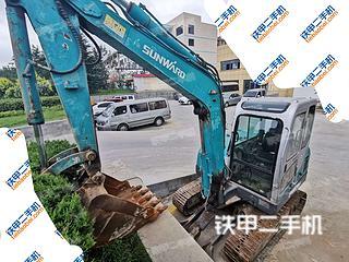 山东-威海市二手山河智能SWE60H挖掘机实拍照片
