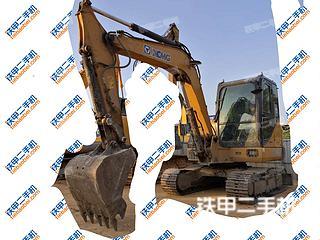 徐工XE60CA挖掘機實拍圖片