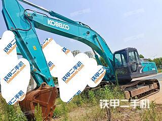 安徽-合肥市二手神钢SK350LC-8挖掘机实拍照片