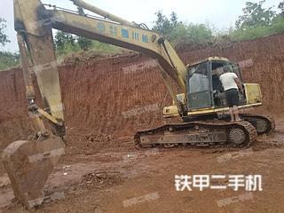 湖南-衡阳市二手小松PC200-6E挖掘机实拍照片