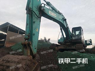 四川-眉山市二手神钢SK350LC-8挖掘机实拍照片