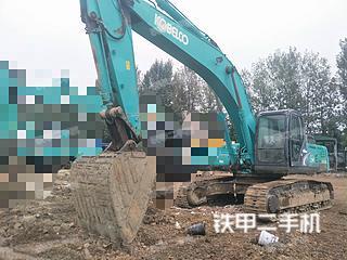 四川-成都市二手神钢SK350LC-8挖掘机实拍照片