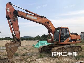 安徽-马鞍山市二手斗山DH225LC-7挖掘机实拍照片