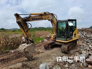 安顺小松PC70-8挖掘机实拍图片