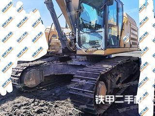海南卡特彼勒349D液压挖掘机实拍图片
