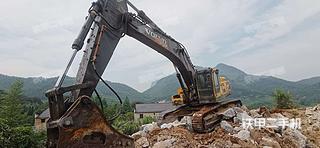 重庆沃尔沃EC460BLC挖掘机实拍图片