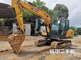 三一重工SY125C挖掘机实拍图片