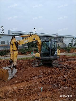 衡阳神钢SK75-8挖掘机实拍图片